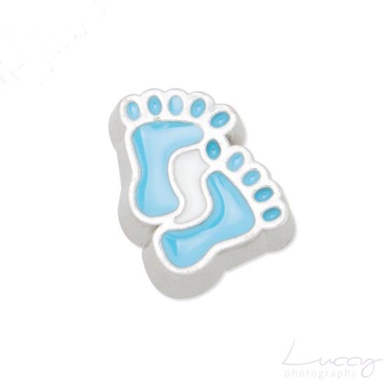 modrá stopa